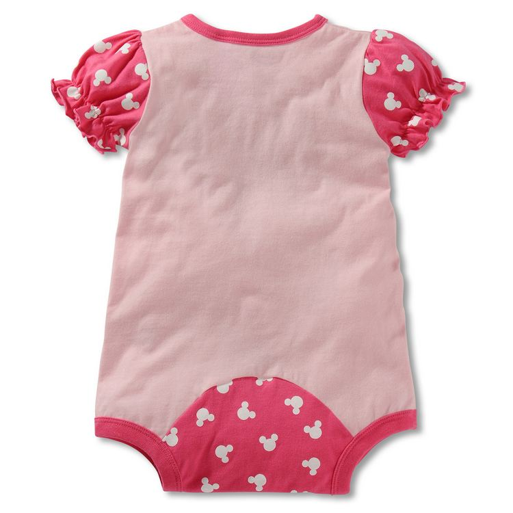 168bffe61100 ... Minnie Mouse Baby Romper
