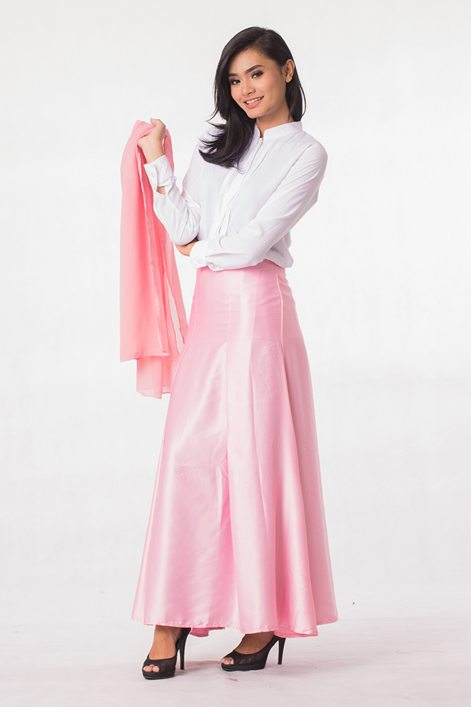 Long Skirt With Blouse | Fashion Skirts