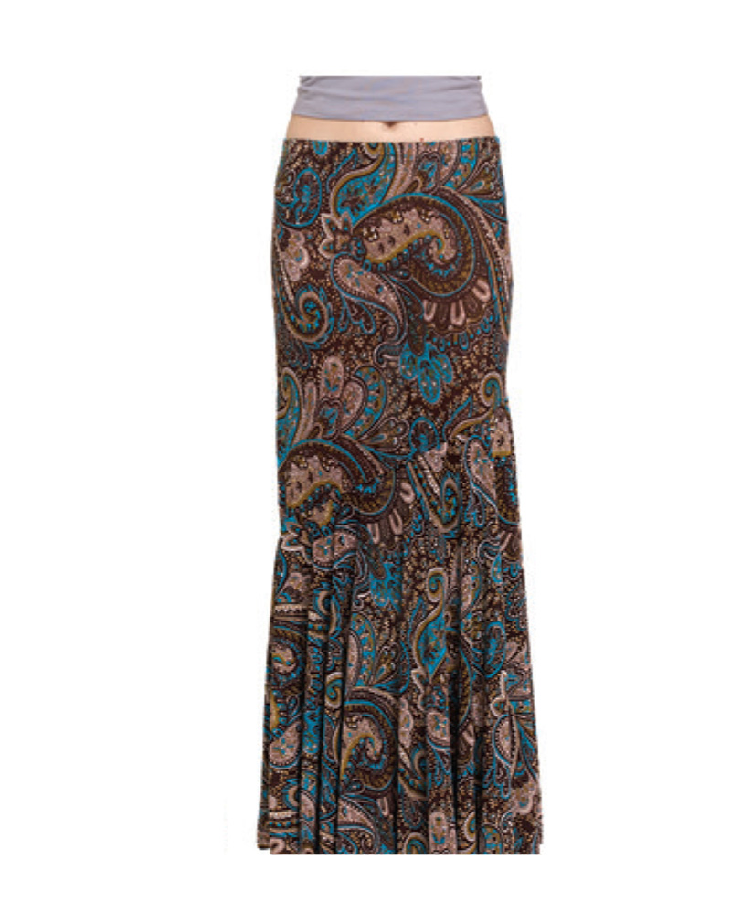 Long bohemian skirt cant stop