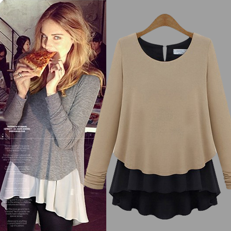 New Fall Clothes 2014 spring new Korean fat mm