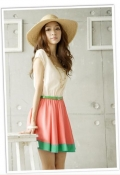 Simple One Piece Dress (Include Belt)