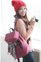 Korea Trendy Canvas BackPack