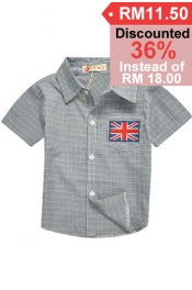  *SALES* UK Style Button Shirt