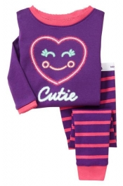 BabyGap Cute Heart Long Sleeve Set