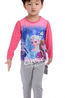 Baby Cute Frozen 2 pcs Long Sleeve Set
