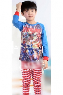Baby Cute Avengers 2 pcs Long Sleeve Set