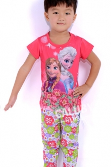 Baby Cute Frozen 2 pcs short Sleeve Set