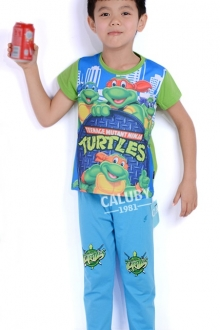 Baby Cute Ninja Turtle 2 pcs short Sleeve Set