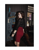 Stylish Package Hip Skirt