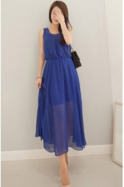 Chiffon Dress with Inner 
