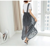 Trendy Long Strap Design Dress