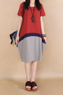 Flax Commoner 3 Tones Casual Dress