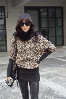 Leopard Printed Women Dress
