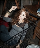 Top With Net Neck Line