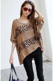 Leopard Printed Big Top 