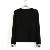 Inspired Trendy Long Sleeve Knitted Top