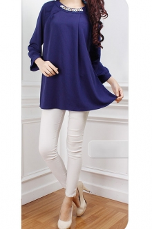Puff Sleeve Women Blouse