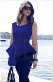 Trendy Asymmetric Women Top