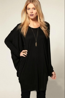 Layered Loose Long T-Shirt