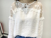 Lace Shoulder Panel