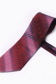 Gradient  Stripe Trendy Necktie