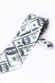 Dollar Printed Trendy Necktie