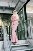 Ateerah Exclusive Peplum Dress