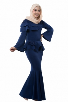 Rayesha Exclusive Peplum Dress