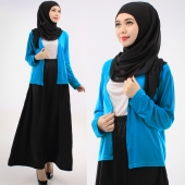 3 Pieces Basic Cardigan + Tank Top with Skirt (Including Shawl)