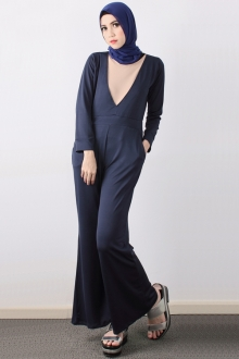 One Piece Dolly Jumpsuit (Including Shawl)