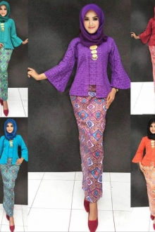 (Pre-Order for New Raya Design)  Amaani Kebaya Modern Set with Bell Sleeve