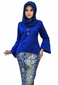(Pre-Order for New Raya Design) Clara Curve Kurung Set With Bell Sleeve