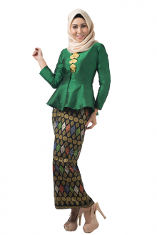 Ella Classic Peplum Style with Self Tie Sarong
