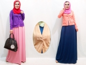 2 Pieces Joint Women Blazer with Sleeveless Dress (Including Shawl)