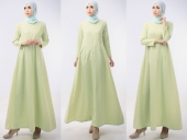 Basic Modern Flare Jubah Dress (Including Shawl)