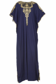 Marcela in Kaftan Style with Embroidery Details