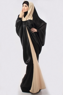 One Piece Batwing Abaya Jubah Dress