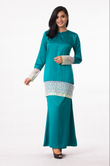 2 Pieces Lace Design Modern Kurung