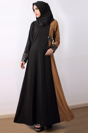 Sasqiyah Panel Dress with Side Pocket