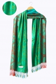 Kelly In Abstract Motifs Pashmina Shawls