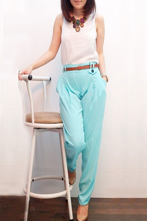 Waist Stretchable Skinny Pants
