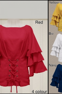 BACKORDER Shirly Top Blouse
