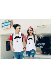 Korean Couple set Tops Men+Woman