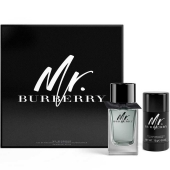 Mr. Burberry Eau de Toilette 100ml +  Mr. Burberry Deodorant Stick 75g