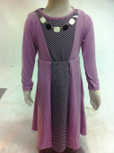 Pearl Necklace Design Jubah Dress (Including Shawl)