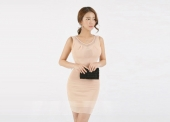 Sexy Translucent Open Chest Slim Dress