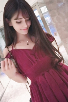 Ruffle Layered Sleeve Drop Shoulder Dress