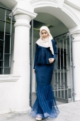 Darleena Kebaya Pleated with Mermaid Skirt Set