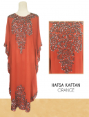 Hafsa in Kaftan Style with Embroidery Detail