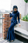 Qaoulla Exclusive Peplum Dress